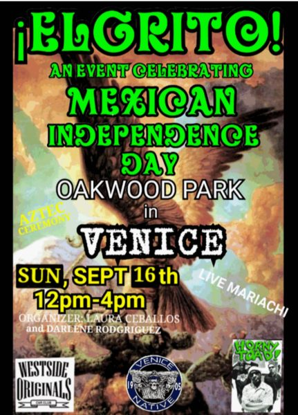 """Celebrating """"El Grito"""" Mexican Independence Day in Venice - Yo! Venice!"""
